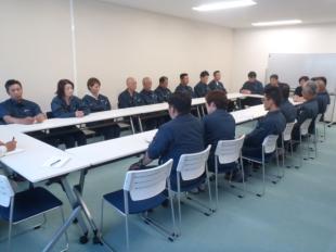 画像:令和元年8月度社内安全会議1