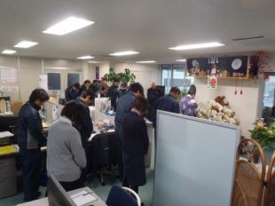 画像:新年安全祈願を開催いたしました。1